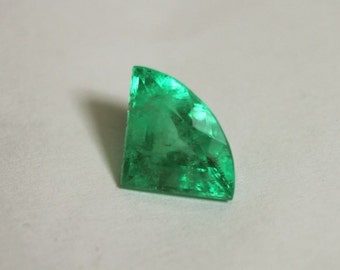 Superb! 2.02cts Loose Natural Colombian Emerald~ Trillion Cut