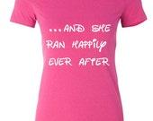run disney t-shirt - princess runner - princess half marathon - running shirt