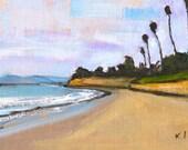 Butterfly Beach Santa Barbara, California Landscape Painting