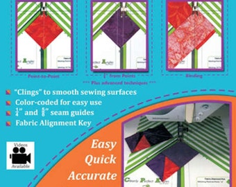 New Leaf Stitches Clearly Perfect Angles Template
