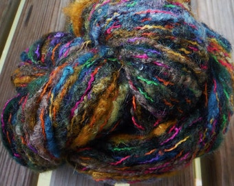 CHUNKY Weight Yarn -  Furisode Forest #16 - Wool Mohair Silk Viscose - Noro Mossa - 50g - 98 yards