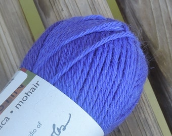 WORSTED Weight Yarn - Ultramarine (#3293) - Wool Alpaca Mohair -  Classic Elite Yarns Color by Kristin - 50 g 93 yards