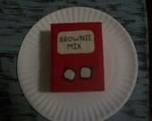 Felt Brownie Mix Playfood