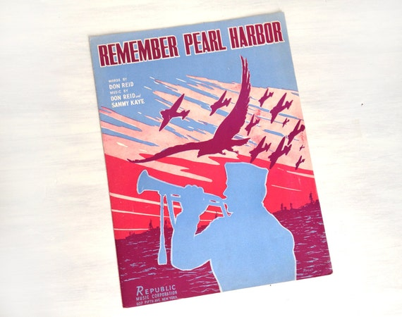 Pearl Harbor Sheet Music Sheet Music Remember Pearl