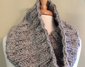 Thick and Quick Cowl - PDF Knitting Pattern