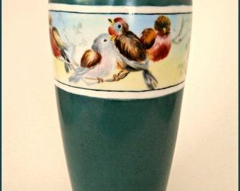 "Antique Rosenthal Porcelain Hand Painted Wildlife/Birds -10.5"" - June SALE"