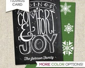 Custom Tidings of Comfort & Joy - Printable PDF