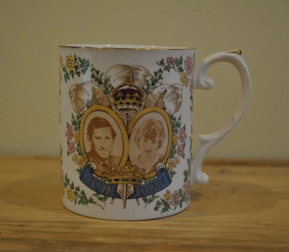 Caverswall China mug - To celebrate the Marriage of Diana and Charles
