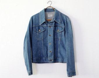 1970s Sedgefield denim jacket, vintage jean jacket