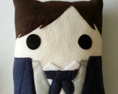 Mr Darcy, Pride and Prejudice, Jane Austen pillow, plush, cushion