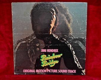 JIMI HENDRIX - Rainbow Bridge...Original Motion Picture Soundtrack  - 1971 Vintage Vinyl Gatefold Record Album...Promotional Copy