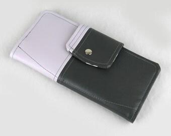 Vinyl Passport Wallet, Red Passport Wallet, White Passport Case