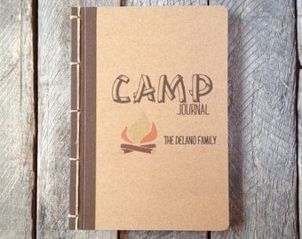 Made to Order Personalized Summer Camp Journal