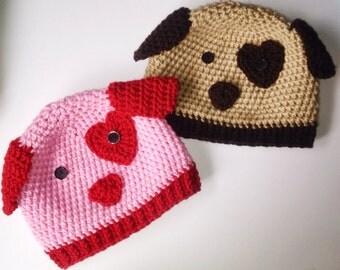 Puppy Love Dog Hat
