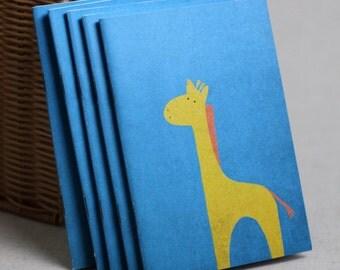 Small giraffe notebook