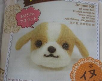 Japan Animal Kit of Wool Felt - Dog