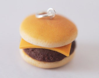 Food jewelry - Burger Necklace