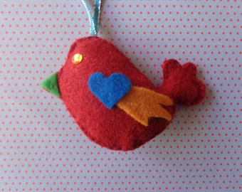 Dancing Day Bird Ornament by Pepperland