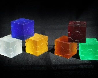 Color Companion Cubes