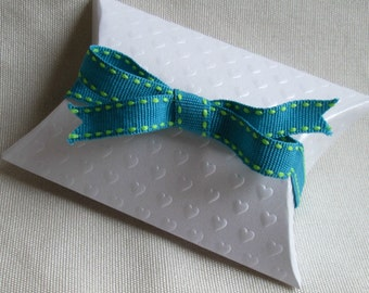"Turquoise Blue Ribbon...3/8"" X 8 yards"