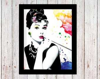 Audrey Hepburn with a twist