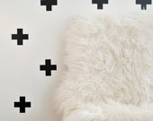 "Swiss Cross Plus Sign 2.5"" Wall Decal Stickers (Set of 24)"