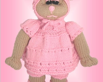 Pippy Bear - a unique and original knitting patter - PDF format