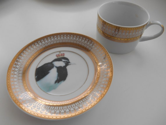 & Custom Order for Nadya - Three 6-piece Bird Dinnerware Sets
