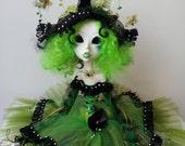 OOAK Custom Art Doll Twilight Wicken . RESERVED FOR R.
