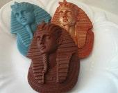 EGYPTIAN SOAP, Pharaoh Tutankhamun King Tut, Scented in Egypt, Vegetable Based