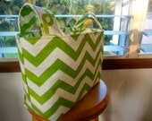 Reversible Fabric Storage Organizer/Gift Basket