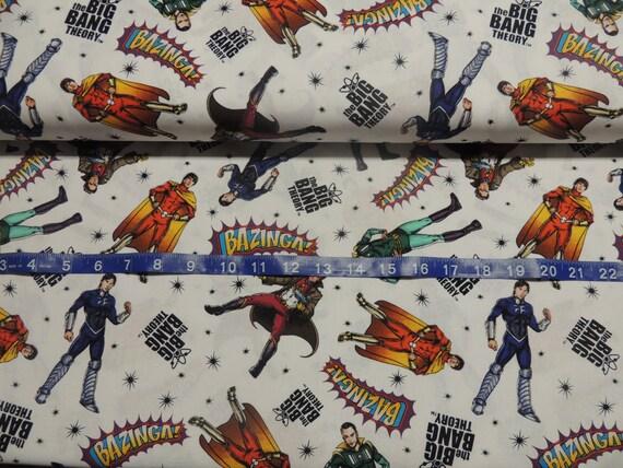 Big Bang Theory Fabric