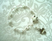 Doves Anglican Rosary Bracelet