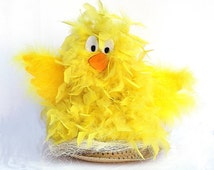 Boy Easter Hat Bonnet Decorating Kit with Chick Chicken theme watch my YouTube video to help you create this prize winner with your child