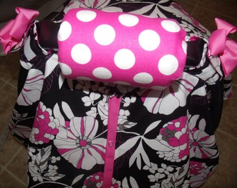 Carseat Arm Cushion Cover Padding Handle Pad You Pick Fabric
