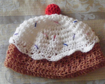Adult-sized cupcake hat.