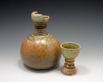 Porcelain Sake Flask Tokkuri