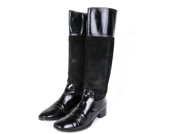Tall Black Boots Women's Size 8