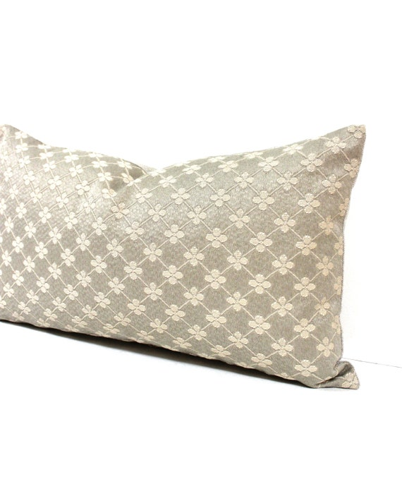 Beige Throw Pillow Covers : Lumbar Pillow Cover 10x20 Taupe Beige Decorative by couchdwellers