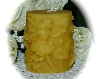 Fun in the Sun Pure Beeswax Summertime Candle - Playing in the Sun Reminiscent of Childhood