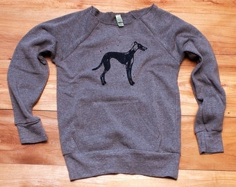 supa fly Greyhound Sweatshirt, Dog Sweater, S,M,L,XL,2XL