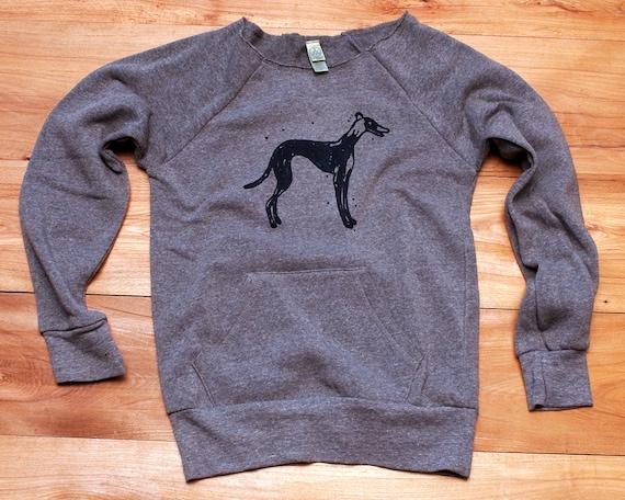 supa fly Greyhound Sweatshirt, Dog Sweater, S,M,L,XL