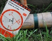 1963 Infograph Croquet Coach.  Sears Instructions and Strategy for the Croquet Game.  Y-079