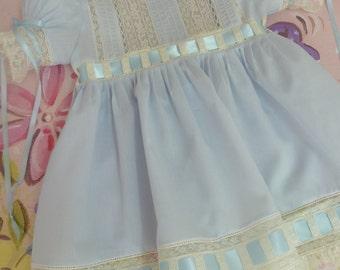 Heirloom Girl's Batiste Dress and Slip