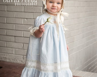 Handmade Girl's Heirloom Dress and Slip