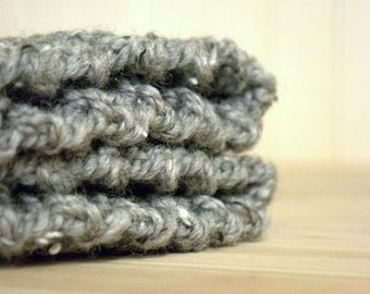 Boot Cuffs - Crochet Boot warmers - Gray, Handmade Crocheted, Made With Love, Winter Fashion, Autumn