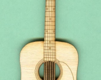 Martin Guitar (MU-023) - Laser Cut