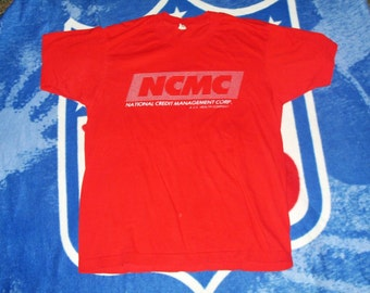 Authentic vintage National Credit Management US Health shirt medium