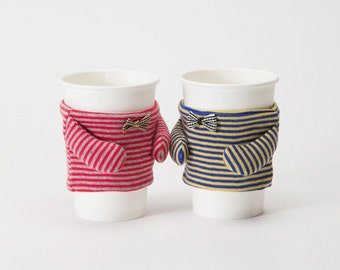 CoffeeMate V1 - Cup Sleeve Coffee Cozy Unique Design Gifts for Coffee Lovers Home Interior Décor