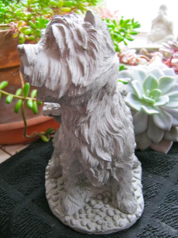 Westie Angel Statue, Concrete West Highland Terrier, Cement Garden Dog  Memorial, Garden Statues, Pet Memorial, Headstone, Concrete Dog Art